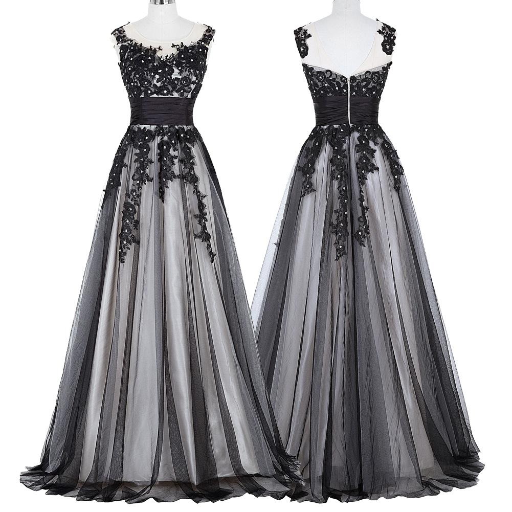 Elegant Lace Appliques Mother of the Bride Dress 11
