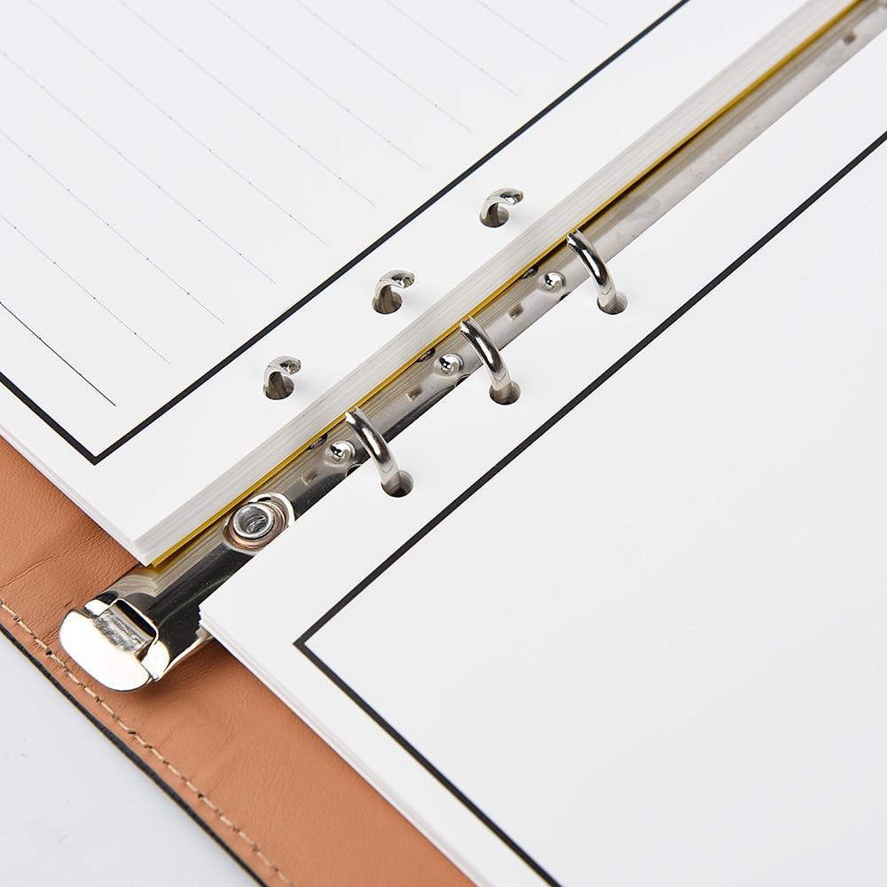 Leather Wirebound Reusable Cloud Storage Smart Notebook 4