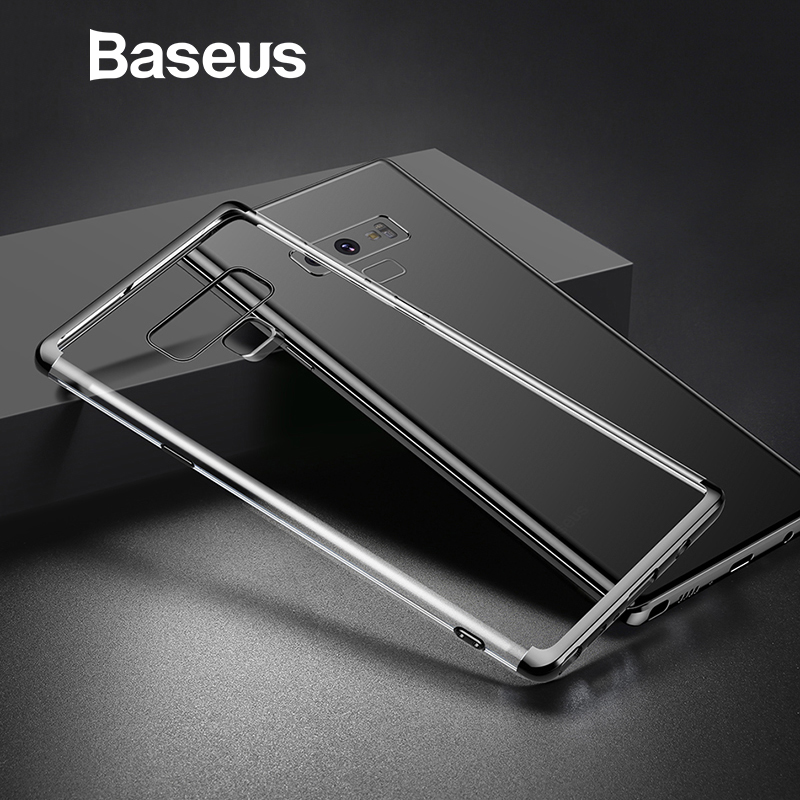 Baseus Shining Phone Case For Samsung Galaxy Note 9 Transparent Clear Full Protection Cover Ultra Thin Mobile Phone Cases Coque
