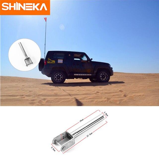 SHINEKA New Arrval Car Pole Bracket Flag Holder Car ...