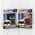 "Funko pop heroes dc batman superman acción pvc figure collection toy doll 4 ""9.5 cm"