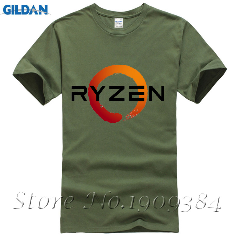 PC CP Uprocessor AMD RYZEN T Shirt geek programmer tees Gaming camiseta Computer ZEN Peripherals T-Shirt
