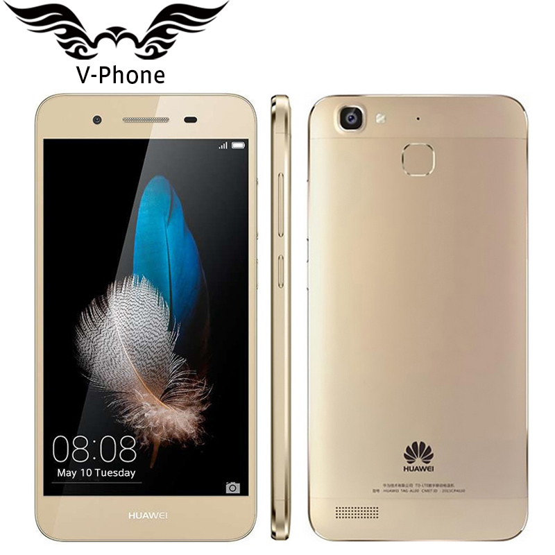 Original Huawei 5S TAG-AL00 Mobile Phone 2GB RAM 16GB ROM 5 inch Android 5.1 Octa Core MTK6753 1.5GHz 4G Support Dual SIM 13.0MP