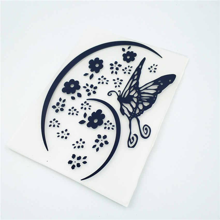 HOT plastic Crescent template craft card making papieren kaart album bruiloft decoratie clip art relief clip Embossing mappen