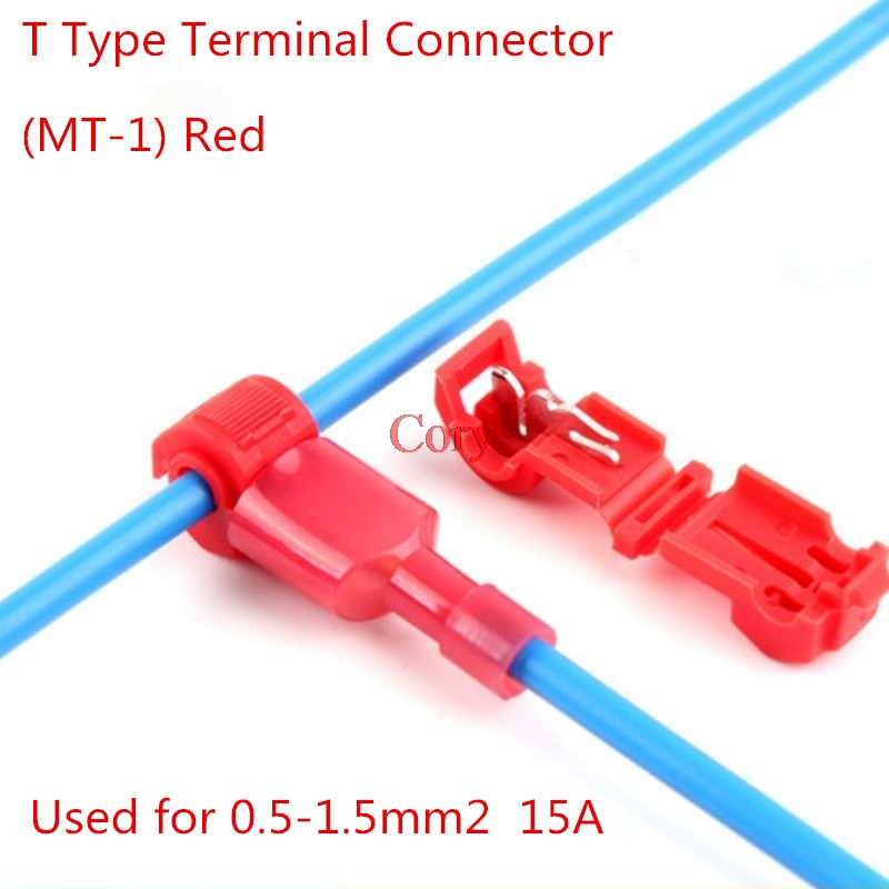 150 3M T-Taps//Male Insulated Wire Terminal Connectors Car Alarm Installation