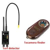 Barato Detector de RF escáner magnético GSM Audio Bug Cámara buscador GPS lente de señal RF Tracker