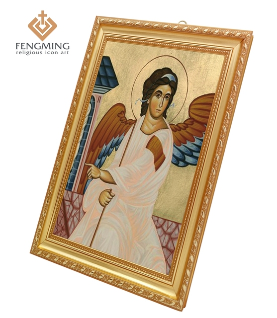 religious art prints plastic photo frames icon of the holy guardian