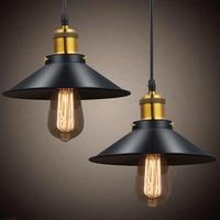 Wholesale Vintage Industrial Lighting Copper Lamp Holder Pendant Light American Aisle Lights Lamp Edison Bulb 110V