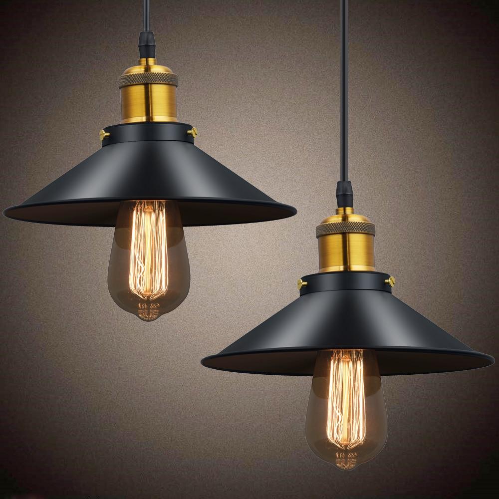 Russian Industrial Pendants: Vintage Pendant Lamp Black Wrought Iron Lamp Shade Art