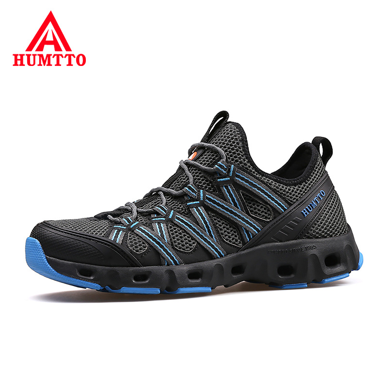 Breathable Lace up Outdoor Profession River Shoes Men s Non slip Waterproof beach shoes Wear Resistant