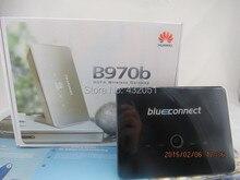 Desbloqueado huawei b970b 3g wifi hotspot router 7.2 mbps hsdpa módem inalámbrico