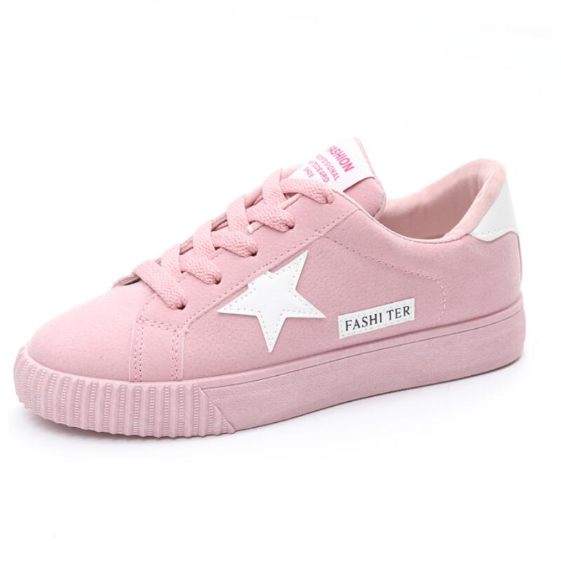 Women Shoes Casual flat Sneakers 2018 spring and summer new fashion wild students comfortable bottom ventilation large size