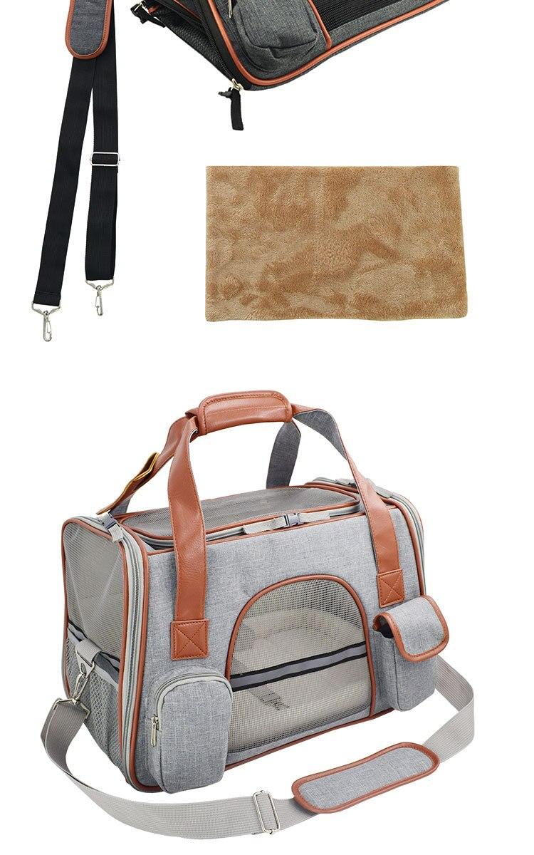 Breathable K9 Dog Backpack Carrier 16