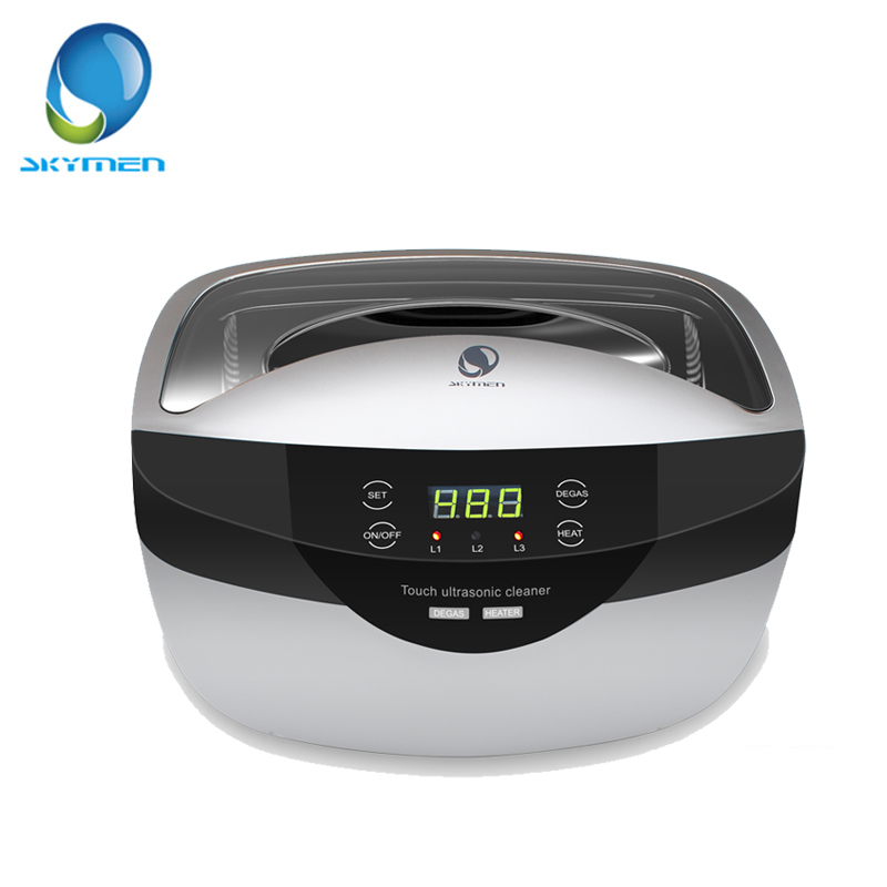 In stock JP 2500T Ultrasonic cleaner With Heated Large Capacity double power 120W Touch key with