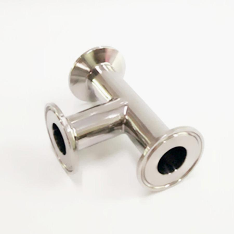 1-1/2 38mm Pipe OD x 1.5 Tri Clamp Tee 3 Way SUS 304 Stainless Steel Sanitary Fitting Homebrew Beer Wine Diary Product 1 4 1 npt female x 1 5 tri clamp 304 stainless steel sanitary pipe fitting connector for homebrew ferrule od 50 5mm