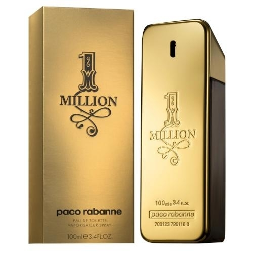 1 MILLION BY PACO RABANNE By PACO RABANNE For MEN цена 2017