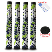 Golf grips camouflage club grip pu anti-skid Super light free shipping