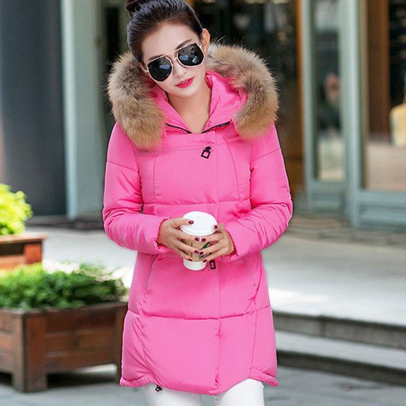 Femmes Veste Inverno 1 Mujer Z006 Rose Yellow Pour Capuche Les lemon Noir Feminino À Chaquetas blanc Épaississement light Pc gris Casacos De D'hiver Parka Coton Manteau qYT5wtnr5