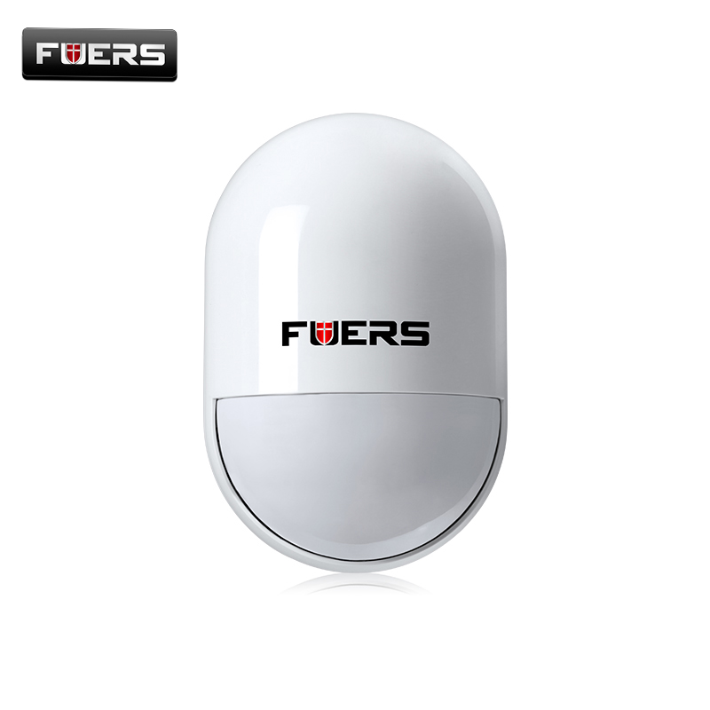 P829 Fuers Intelligent Wireless PIR Motion Detectors Sensor For GSM Alarm System Home Security G11 G18 G19 fuers wifi gsm sms home alarm system security alarm new wireless pet friendly pir motion detector waterproof strobe siren