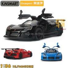 4 Cores Apollo Kinsmart 1:36 5 Polegadas 2010 Sports Car Diecast Modelo Liga Carro de Brinquedo Como Presente Para Criança Crianças