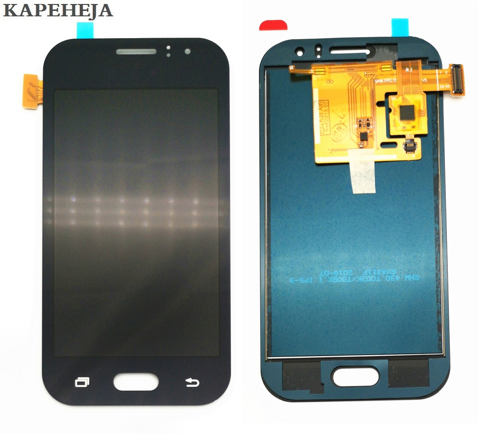 Can Adjust Brightness LCD For Samsung Galaxy J1 Ace J110 J110F J110H J110M LCD Display Touch Screen Digitizer Assembly