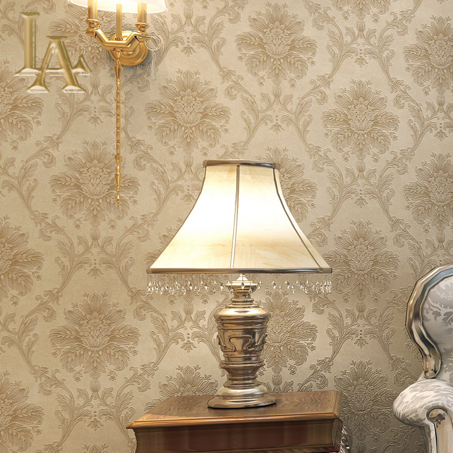 modern damask wallpaper for walls Non-woven european glossy beige white living room modern luxury wall paper for bedroom junran european style wallpaper for walls 3d vintage non woven wallpaper rolls blue damask wall paper floral for bedroom living