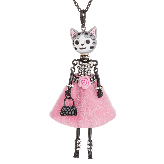 Kid's Cat Themed Necklace