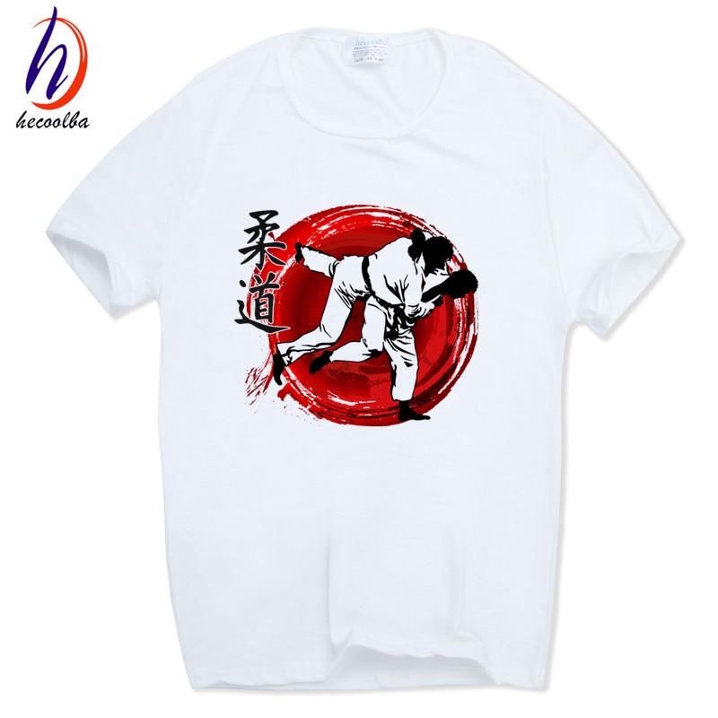 Mäns Evolution Of A Judo Mode T-shirt harajuku hip-hop Kortärmad - Herrkläder - Foto 2