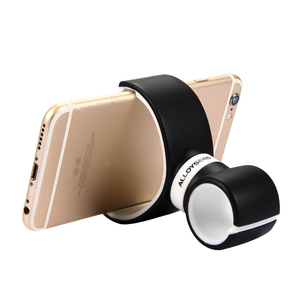 Mobile Phone Clip Holder 360 Degree Car Air Vent Dual C Shape Bike Bicycle Mount Stand For Samsung Galaxy For Huawei LG Phones