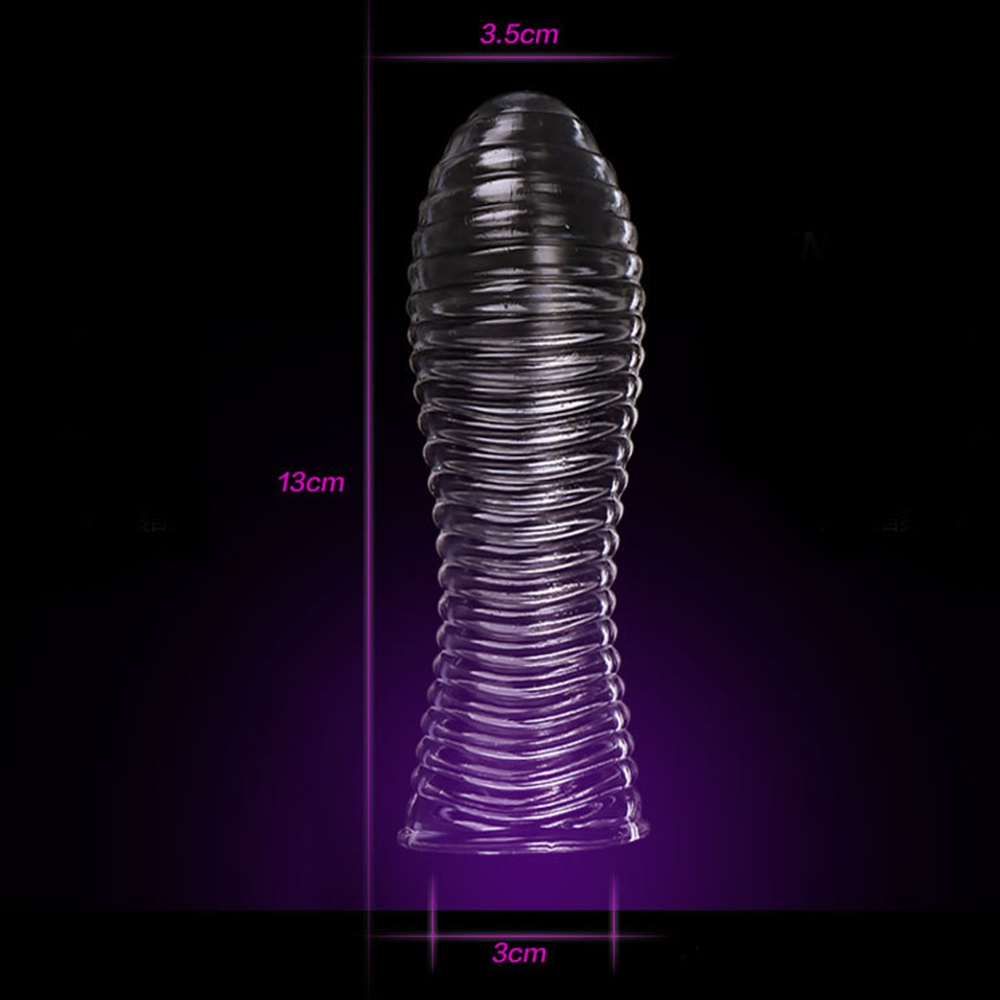 IKOKY Penis Ring Delaying Ejaculation Cock Ring Sex Toys for Men Reusable Condom Penis Sleeves Male Masturbation Penis Extension 6