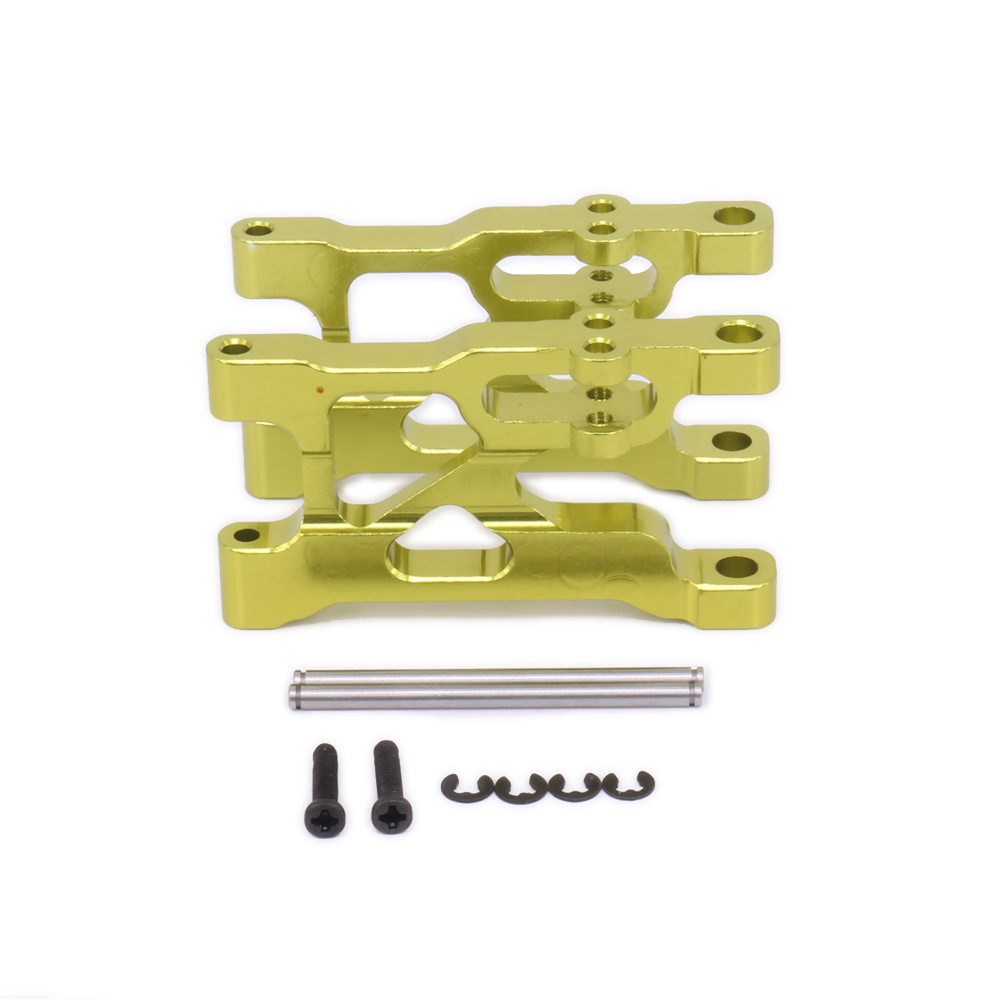 Front Lower Suspension Arm For Rc Hobby Model Car 1-12 Wltoys 12428 12423 a Arm Monster Truck Short Course Off-Road front lower control arm 2pc