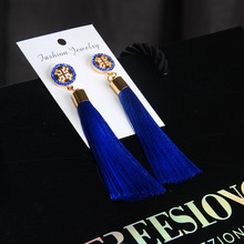 KLEEDER Tassel Drop Earrings Bohemian 2019  Ethnic Sequins for Women Fashion Jewelry Dreamatcher Boho Wedding Earring oorbellen