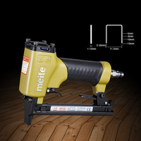 High Quality 1013J Pneumatic Nail Gun Air Stapler Gun Tool Brad Nailer Gun