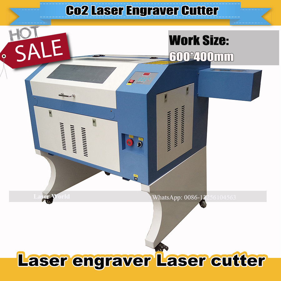 High Quality 110/220V 50W 600*400mm Reddot Sensor USB Interface Mini CO2 Laser  Engraver Cutting Machine