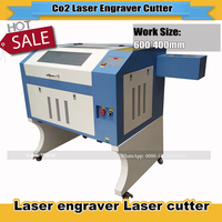 High Quality 110/220V 50W 600*400mm Reddot sensor USB Interface Mini CO2 Laser  Engraver Cutting Machine|machine cutting|machine machine|machine laser -