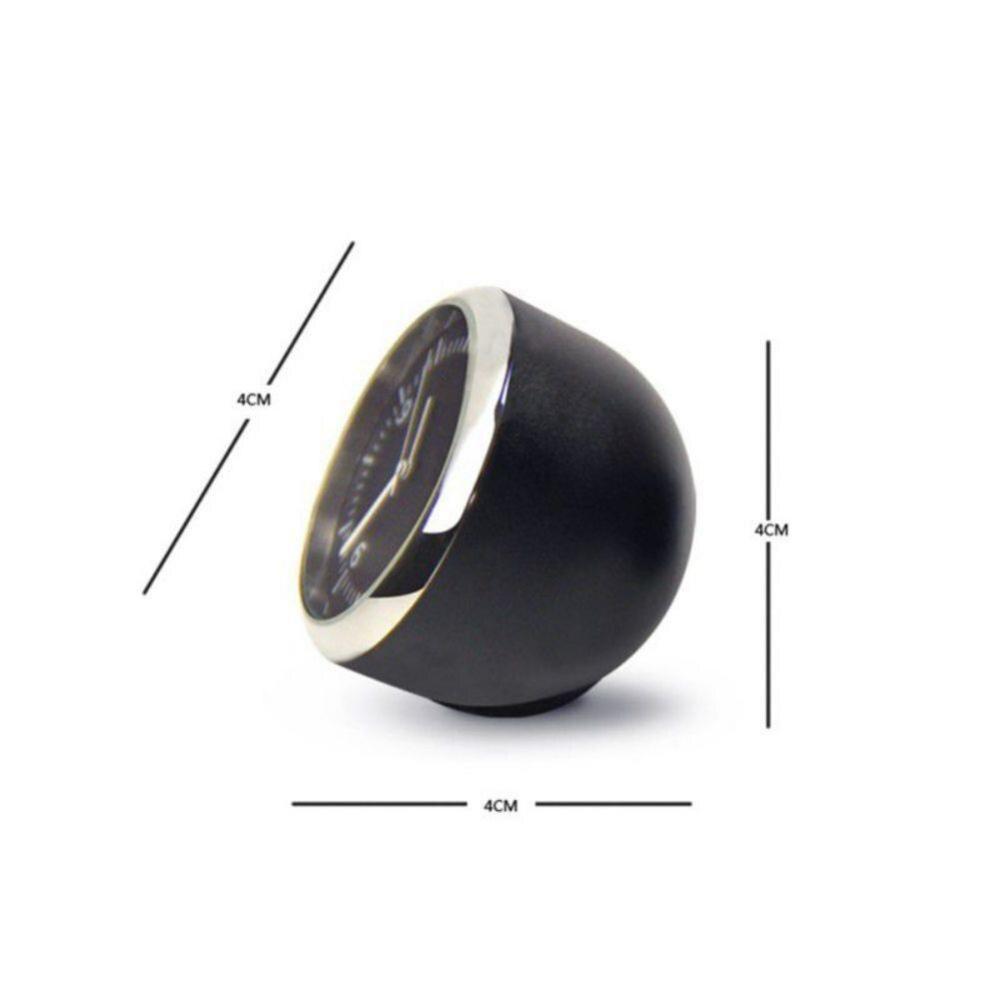 Авто цифровые часы Мини авто флуоресцентные часы термометр гигрометр приборная панель украшения часы с орнаментом в автомобильные аксессу...