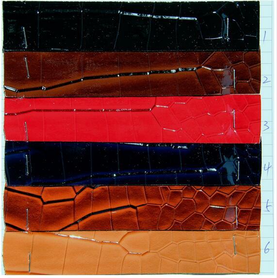 Faux BRICOLAGE pu cuir synthétique tissu matériel, crocodile imprimé pu deri, synthétique en cuir tela para muebles, 1210028