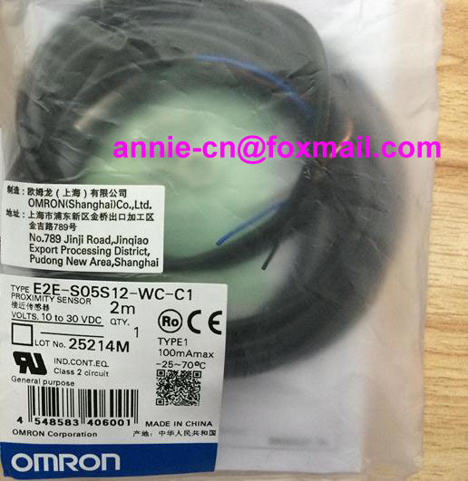 цены  New and original  E2E-S05S12-WC-C1, E2E-S05S12-WC-B1  OMRON  Proximity sensor,Proximity switch, 10-30VDC