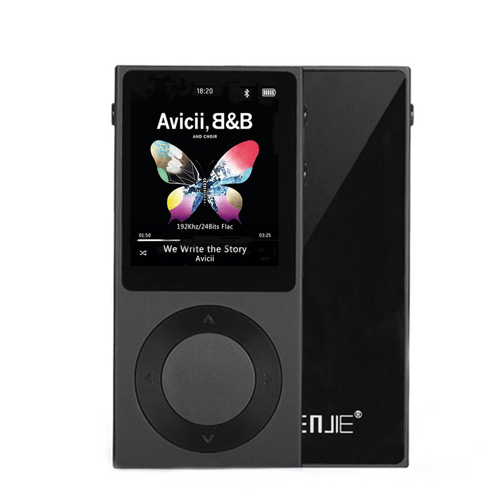 Original BENJIE T6 Hifi MP3 Player Bluetooth 4.0 Portable DSD HiFi Sound Lossless Music Player-Supports up to 256GB