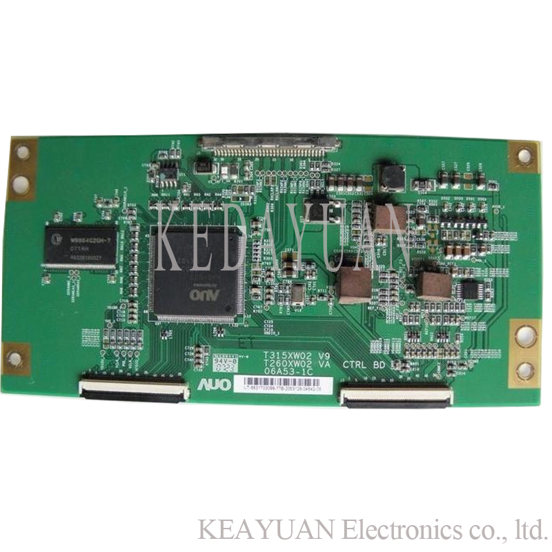 2019 New Style Lcd T-con T370hw02 V0 Control Board 06a22-1b Auo 37 Inch Logic Board For Philips Working Good! Integrated Circuits