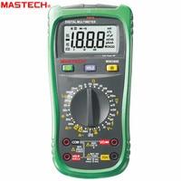 MASTECH MS8260E Digital Multimeter LCR Meter AC DC Voltage Current Tester w/hFE Test & LCD Backlight Meter Multimet
