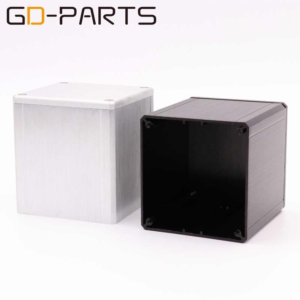 GD-PARTS 1 PC 84*80*91 мм Алюминий трансформатор Триод защитную крышку Защитный футляр Hifi аудио гнездо трубки DIY
