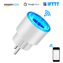 Eu Electrical Socket Wifi Smart Wall Plug Remote Voice Control Timing Switch Kitchen Plug with Amazon Alexa Google Assistant wifi smart socket wall plug switches app remote control work with amazon alexa google home ifttt timing schedule advanced switch
