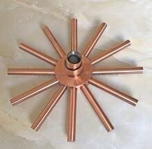 Vintage Retro Bathroom Rain Shower Head 8 inch Antique Red Copper  Sprayer Tools Nsh219
