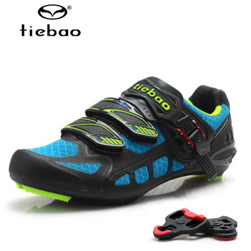 Tiebao Sapatilhas Ciclismo Cycling Shoes zapatillas deportivas mujer add pedal plywood sport Shoes Road Racing Bike Sneakers tiebao professional road shoes rotating screw steel wire with fast cycling shoes road bike shoes tb16 b1259