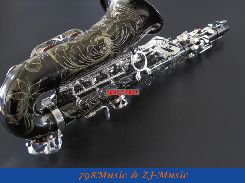 Professional Saxophone Alto Silver Nickel Plated Body Nickel Siver Finish Keys Orders Are Welcome. Band & Orchestral Musical Instruments & Gear