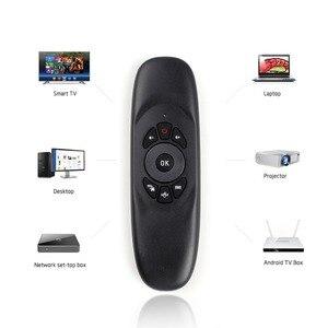 Image 2 - MRSVI C120 Retroilluminazione 2.4G Wireless Air Mouse mini Tastiera per Android Smart TV Box Finestre del computer pc di controllo remoto
