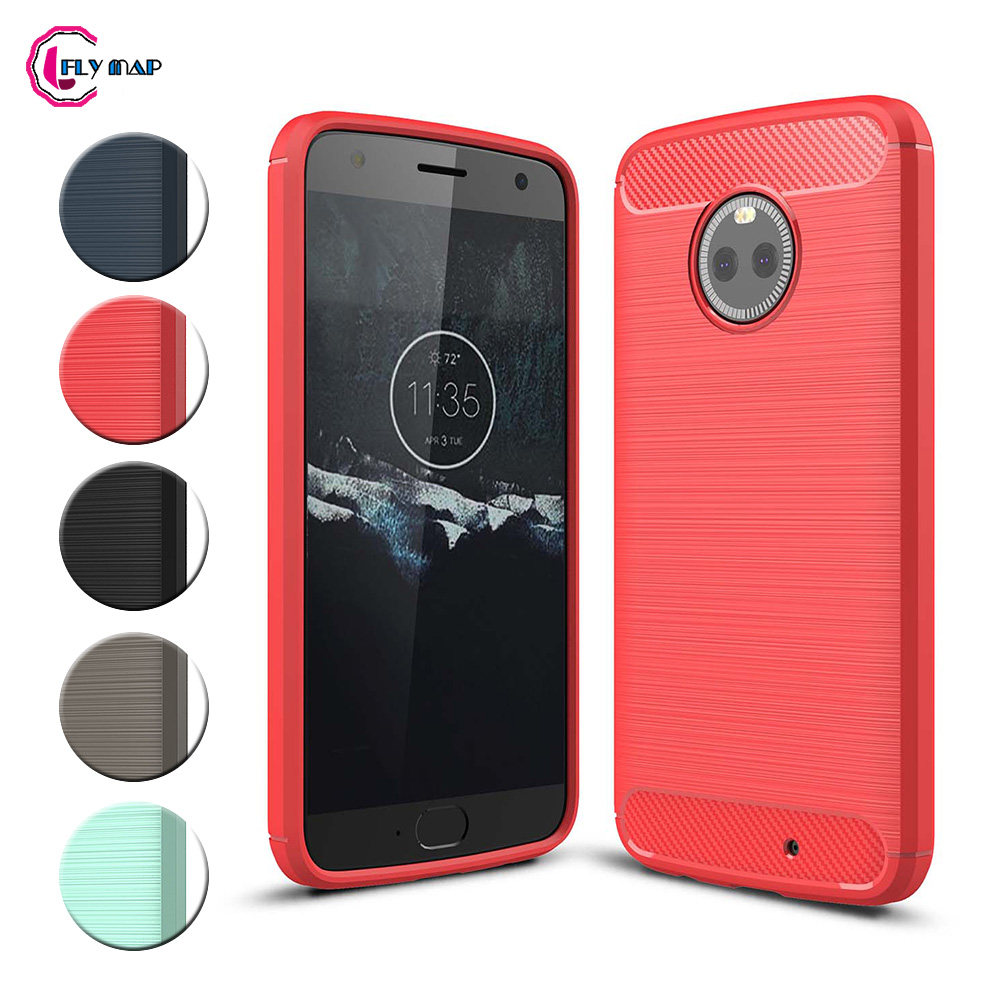 TPU Case for Motorola Moto <font><b>X4</b></font> <font><b>XT1900</b></font> <font><b>XT1900</b></font>-5 <font><b>XT1900</b></font>-7 Soft Silicone Carbon Fibe Case Mobile Phone Cover for Moto X Gen 4 Coque image