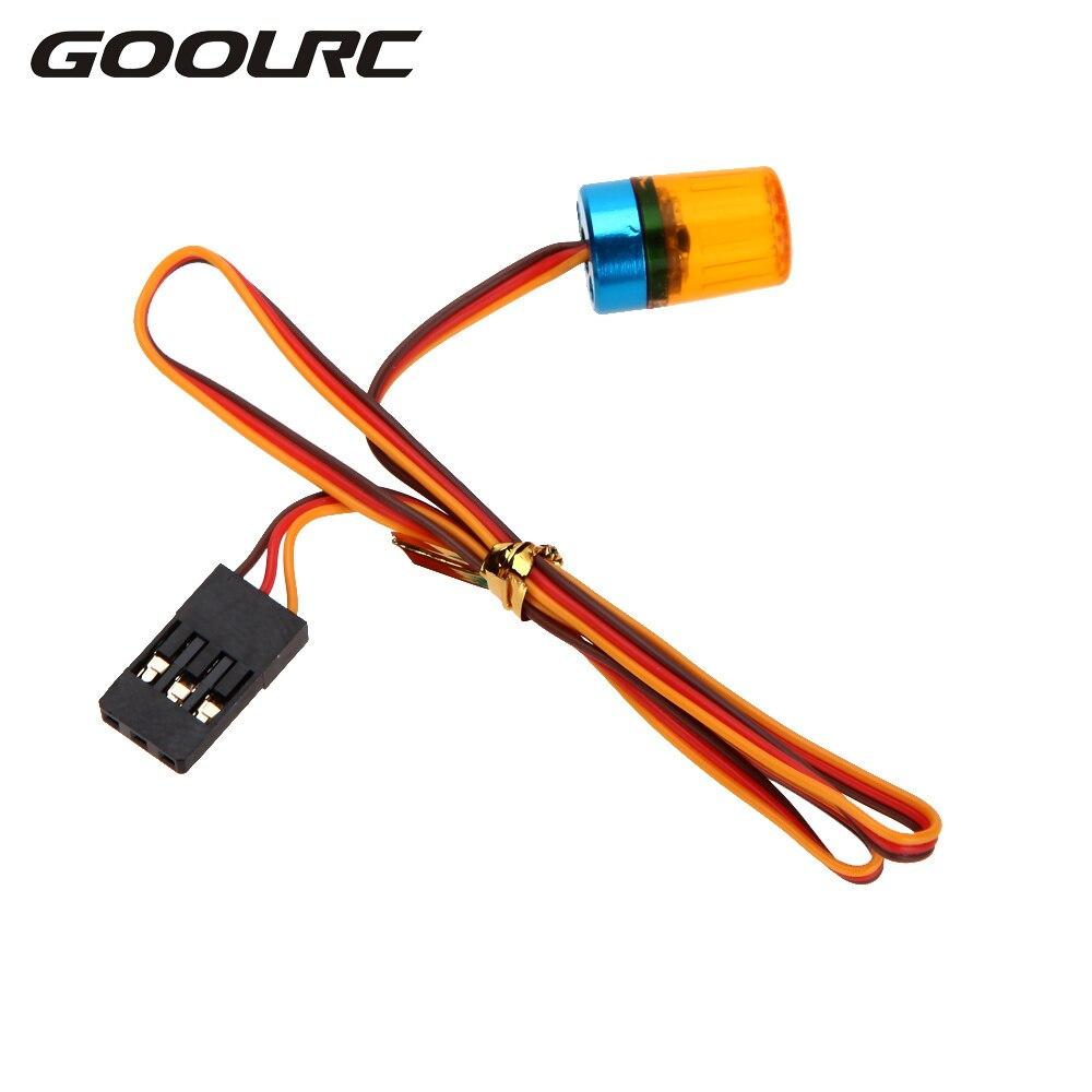 GOOLRC Hot Sale Multi-function Circular Ultra Bright RC Car LED Light with Strobing-Blasting Flashing Fast-slow Rotating Mode