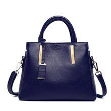 Fashion soild genuine leather women handbag brand leather lady tote bags women dress business bag